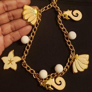 Vintage Napier Sea Shell Necklace